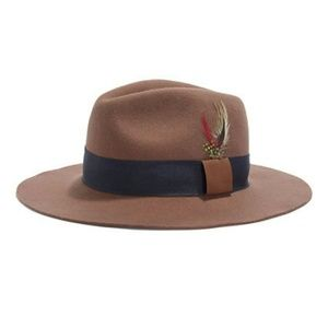Biltmore Wool Wide Brim Fedora Hat